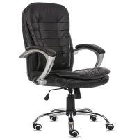 安吉厂家直销人体工学转椅家用电脑椅职员办公椅子时尚皮椅