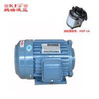 佛山现货供应0.75KW油泵电机 HGP-1A专业电机 三相异步电机