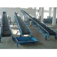 爬坡式皮带输送机 高效耐磨鼎达输送机 输送设备厂家