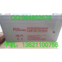 12v100ah免维护POGPOWER蓄电池/铅酸蓄电池/12v蓄电池