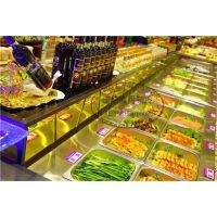 浙江汉釜宫自助烤肉菜品卧式佳伯保鲜柜佳伯生产厂家