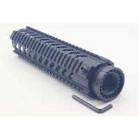M16战术导轨 10英寸铝制导轨 20mm皮轨四面鱼骨 燕尾皮轨皮卡丁尼导轨