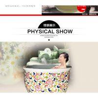陶瓷洗浴大缸定做 泡澡大缸厂家 和艺陶瓷