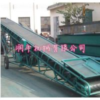 槽钢皮带输送机型号 倾角槽钢皮带输送机厂家 润丰机械