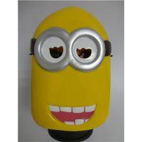 供应黄人面具 动漫面具 爱宠机密面具 面具定制13058054046