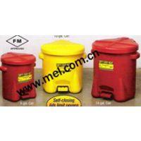 FM认证 美国 EAGLE 高密度聚乙烯废油防火回收桶