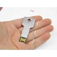 钥匙u盘 纪念U盘 可加载格式化不了的内容,是企业的宣传利器。