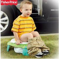 费雪婴儿坐便器便盆 宝宝便携嘘嘘乐 儿童坐便凳座便器马桶 W9419