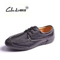 2015新款日常休闲真皮男士鞋 外贸品牌精品广州男鞋 英伦风潮皮鞋