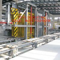 供应青岛国森机械制造高质量新型材料防火板生产线热压机组