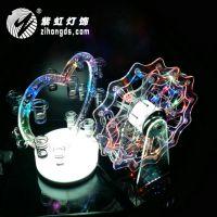 紫虹LED充电心型杯架 亚克力 红酒杯架子 发光杯架