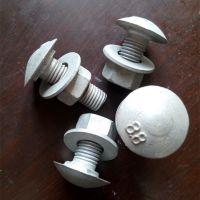 大量生产护栏螺栓 护栏板专用螺栓 高速配件 护栏丝 喷塑 热镀锌 护栏螺丝 m16 护栏板用螺栓