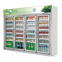 佛山厂家直销饮料冷柜/水果展示柜冰箱/立式冷藏冰箱