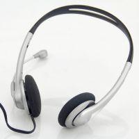 电脑耳机 抗暴力带麦克风 头戴式 游戏耳机 重低音 网吧耳麦批发