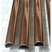 别墅用不锈钢彩色管,订做304不锈钢方管,广东工业管