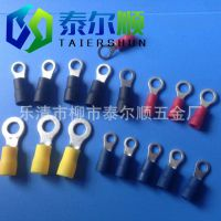 厂家供应RV1.25-4圆型预绝缘冷压端头端子 冷压接线端子 标准质量