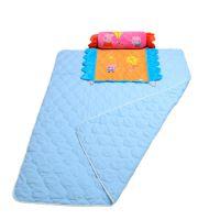 小猪佩奇被子、枕头两用纯棉夏日空调被 儿童超柔纯棉纱布空调被子