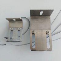供应锁良优质304钢装饰一体板挂件幕墙配件