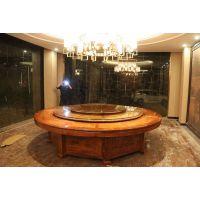 名琢世家定制酒店红木餐桌圆桌33件套
