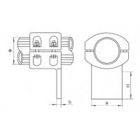 固牌 MGT(C)型 垂直设备线夹 MGT-50C 永固集团股份有限公司