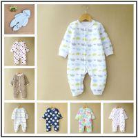 2016婴儿服装纯棉连体衣爬爬服长袖连身衣宝宝婴幼儿哈衣外贸批发新生儿衣服