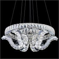 现代简约时尚水晶led新款吊灯 酒店餐厅灯 卧室客厅吊灯