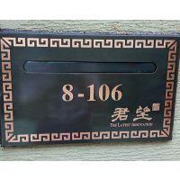 万科房地产杭州君望高档住宅小区别墅信报箱