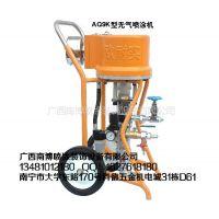 供应广西南博钢结构喷涂机防腐防锈涂料机彩瓦机气动泵喷涂机