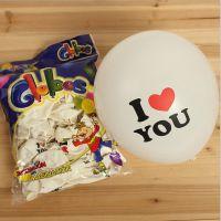 特厚2.8G求婚气球 love气球 婚庆布景装饰广告订做 造型气球