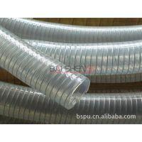 超高耐磨聚氨酯软管 制药级软管 pu钢丝螺旋管