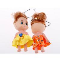 迷糊娃娃钥匙扣挂件 可爱芭比娃娃 手机包包挂件 婚庆礼物批发