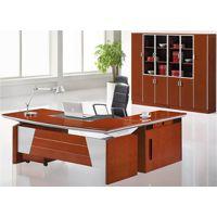 天津总裁办公室班台,班台常规尺寸,实木老板台生产厂家,现代时尚大班台