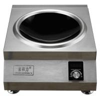 延安电磁台式凹面小炒灶价格亲和力牌 QHL-TAL6KW