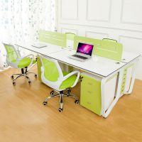 紫翱办公家具职员桌椅屏风工作位组合简约现代员工电脑桌钢架特价