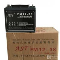 AST蓄电池FM12-38/12V38AH型号报价单