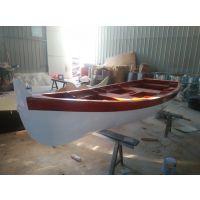 手划船欧式船 婚纱摄影船 道具木船