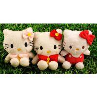 东莞厂家生产KT猫毛绒公仔 款式多欢迎批发定制 2015毛绒玩具 卡通公仔