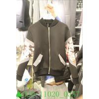 2014秋装新款韩国代购东大门女装正品批发男式长袖棒球服外套夹克
