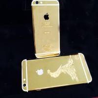 深圳五金电镀 手机iPhone黄金外壳加工 专业表面处理