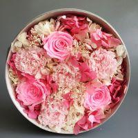 批发车挂饰 永生玫瑰 可以保存3-5年 工厂直销