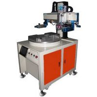 广东力沃自动丝印厂家 双工位伺服机 平面转盘丝印机 半自动丝网印刷机