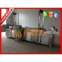 厂家主打产品炸狮子头油水分离式油炸线希源牌YZ-4500型