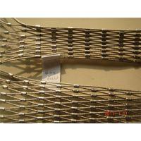 不锈钢绳扣网|不锈钢丝绳网7*7现货供应