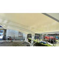 公司主营:膜结构车棚、自行车棚、别墅车棚、景观膜、张拉膜、园林景观膜结构、膜布批发等等