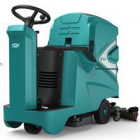 特沃斯T90地下车库专用驾驶式洗地机