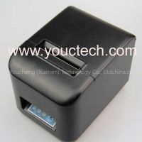 80mm thermal receipt printer with auto cutter Serial+USB+LAN interface