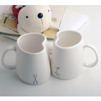 瓯粟创意陶瓷杯 个性杯子批发