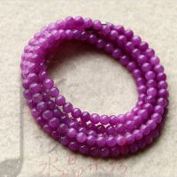 水晶乐坊 完美紫红色 宝石级成色 绕多圈手链 送亲朋女友招财辟邪