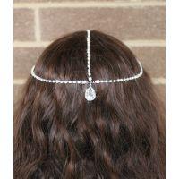 外贸单专供速卖通,EBAY 敦煌货源充足,时尚 新款简约钻石发饰头链