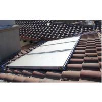平板太阳能热水器,六安亳州别墅公寓平板太阳能热水工程